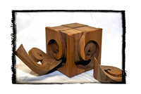 010411 Hand-made Wooden Puzzle